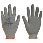 Polyco Dyflex Dyneema Gloves with Cut Resistance 3 Grey Size 9 Large