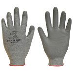 Polyco Dyflex Dyneema Gloves with Cut Resistance 3 Grey Size 10 Extra Large