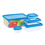 Addis Clip and Close Food Storage Set 5 Piece