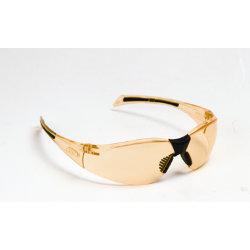 JSP Stealth 8000 Amber Lens and Frame Safety Glasses
