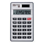 Office Depot AT 810 Pocket 10 Digit Dual Power Calculator