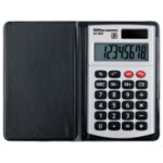 Office Depot AT 809 Pocket 8 Digit Dual Power Calculator