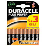 Duracell AAA Plus Power 53 Free Batteries