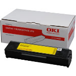 OKI black toner cartridge 1290801 Black N A