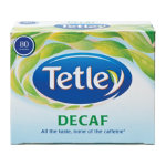 Tetley Tea Decaf Tea Bags Pk 80