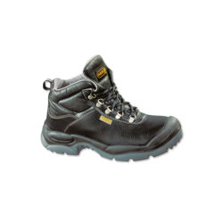 Unisex Sault safety boot Size 8 Black