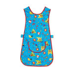 Unisex Fun bugs tabard Size XL Red multi