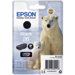Epson 26 Original Ink Cartridge C13T26014012 Black Pack