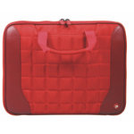 Port Designs Berlin 16 Laptop Sleeve with Carry Handles Red