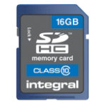 Integral SDHC Value memory card 16GB