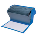 Office Depot a Z Expanding Box Foolscap Blue Each