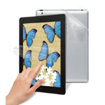 3M Natural view anti glare finger fading black skin screen protector for iPad 2 3