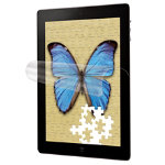 3M Natural view anti glare finger fading screen protector for iPad 2 3