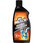 DRAIN GEL 500ML MR MUSCLE KITCHEN