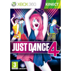 Just Dance 4 (Microsoft Xbox 360)