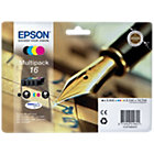 Epson T1626 black and 3 Colour inkjet multipack