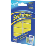 Sellotape Removable Sticky Fixer pads pack of 10