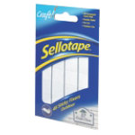 Sellotape Outdoor Sticky Fixers pack of 48