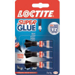 Loctite Mini Trio Super Glue 3 x 1g Tubes