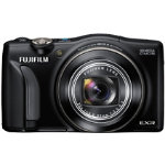 Fuji FinePix F770EXR Camera Black 16MP 20xZoom 30LCD FHD 25mm Wide Lens GPS