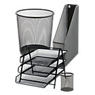 Office Depot 4 Desk Organisation Bundle Black