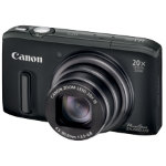 Canon PowerShot SX260 HS Digital Camera Black