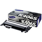Samsung CLT K406S Original Black Toner Cartridge CLT K406S ELS