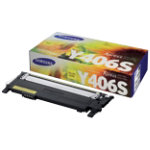 Samsung CLT Y406S Yellow Toner Cartridge