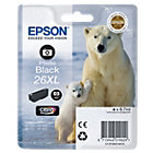 Epson 26XL Original Photo Black Ink Cartridge C13T26314010