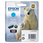 Epson 26XL Original Cyan Ink Cartridge C13T26324010