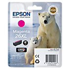 Epson 26XL Original Magenta Ink cartridge C13T26334010