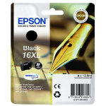 Epson 16XL Original Black Ink Cartridge C13T16314010