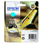 Epson T1632 cyan inkjet cartridge