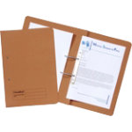 Guildhall Transfer File Manilla Orange Pack of 50