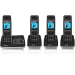 BT6500 Dect Portfolio Quad Pack Phones Black Silver