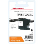 Office Depot Compatible Brother LC127XL Ink Cartridge Black