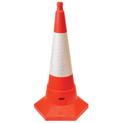 JSP Sand Weighted Traffic Cone 75cm