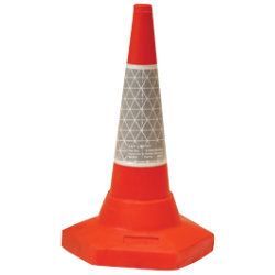 JSP Sand Weighted Traffic Cone 50cm