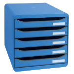 Exacompta Big Box Plus Blue System Drawers