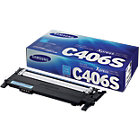 Samsung CLT C406S Original Toner Cartridge Cyan