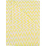 MEDIUM WEIGHT GENERAL PURPOSE WIPING CLOTHS YELLOW PACK OF 50