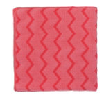 Rubbermaid Microfibre Cloth R050652 Microfibre Red