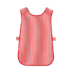 unisex Tabard Size S Length 275ins 70cm Red stripe