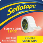 Sellotape Double Sided Tape 50mm x 33m
