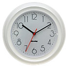 Niceday Quartz Wall Clock 220mm White