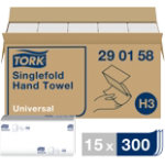 Tork Hand Towels Advanced 1 ply Pack 15