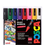 Uni POSCA Paint Markers Assorted Pack of 8