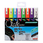 Uni POSCA Chalk Marker Assorted Pack of 8