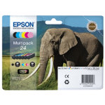 Epson T242840 black and five colour inkjet multipack