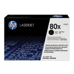 HP 80X High Capacity Black Toner Cartridge CF280X